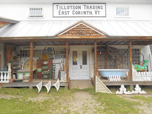 tillotson trading architectural antiques and salvage, east corinth